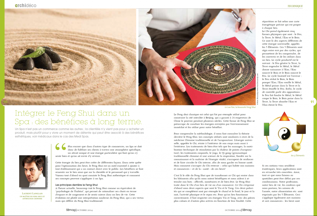 Spa Mag Feng shui